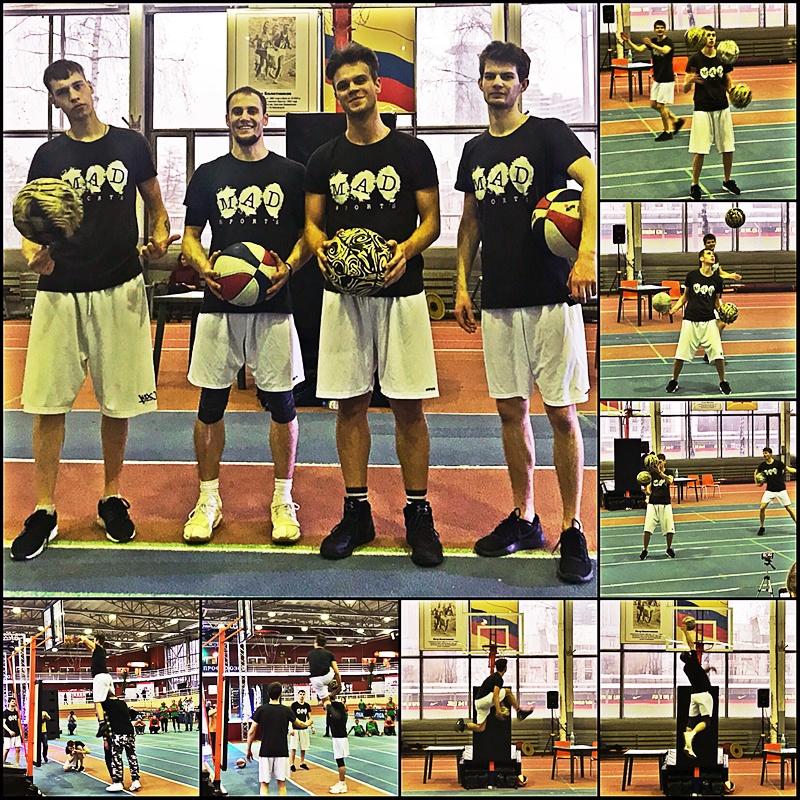 баскетбольное шоу