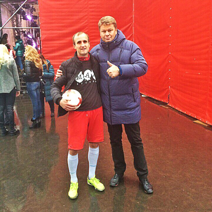 футбольный фристайл и Дмитрий Губерниев